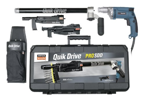 Quik Drive PROSDDM35K Complete Combo Multi-Use Kit for Fastening Decks, Subfloor, Sheathing and Drywall