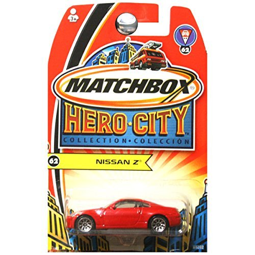 Matchbox Hero City Chevy Chevrolet Corvette C6 in Red #63