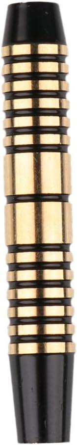 F Fityle Barils en Laiton De 12 Morceaux De 16 Morceaux Pro pour des Fl/échettes De Pointe Molles Et des Pointes en Acier De Pointe