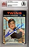 Harmon Killebrew Autographed Signed 1971 Topps Card #550 Minnesota Twins - Beckett Certified