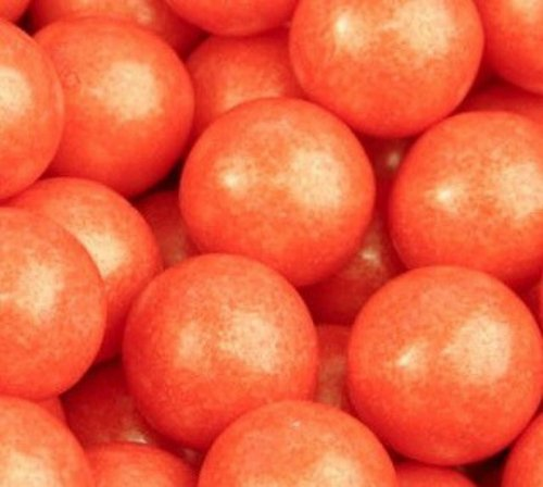 shimmer-pearlescent-orange-1-inch-gumballs-1lb-bag-by-the-nutty-fruit-house