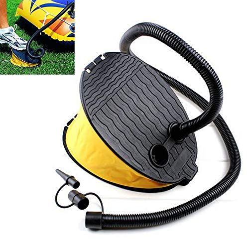3L Outdoor Foot Pump Air Pump Inflator for Pad Camping Mat Mattress Balloon Inflatable Toy Swimming Floating (Bottle Rocket Bikes)