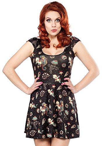 Sourpuss-Kewpie-Seahorse-Skater-Dress