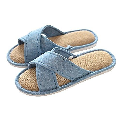Zapatillas Opcional A Zapatillas Inicio Zapatillas Algodón 6 Colores Piso Temporada Impermeables Opcional Antideslizante ZZHF Parejas Cuatro Inicio de de Zapatos Tamaño PwdaRaq