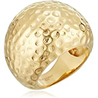 Metro Jewelry Stainless Steel Hammered Women's Ring