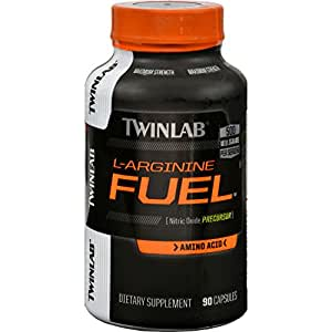 Amazon.com : Twinlab L-Arginine Fuel 500Mg, 90 cap ( Multi ...