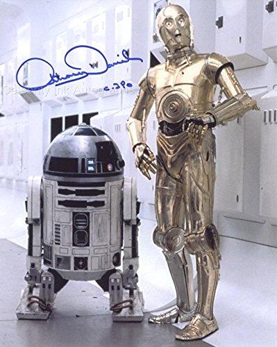 ANTHONY DANIELS as C-3PO – Star Wars GENUINE AUTOGRAPH