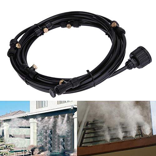 Shoppy Star 6pcs 6 m irrigatore Automatico Testa dripper Micro Set Giardino Esterno nebulizzazione Acqua Sistema di Raffreddonnato Kit Sistema di irrigazione a Goccia Giardino