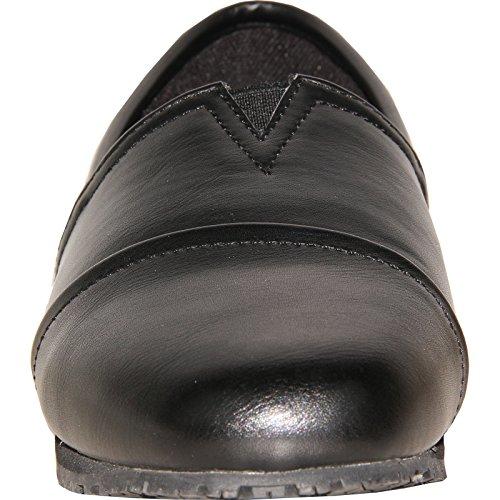 VANGELO Professional Slip Resistant Women Work Shoe Isana Black by VANGELO (Image #2)