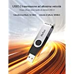 Netac-128G-Chiavetta-USB-30Rotazione-a-360–Pen-DriveUSB-Flash-Drive-velocit-di-Lettura-Fino-a-90-MBsThumb-Drive-Memoria-Stick