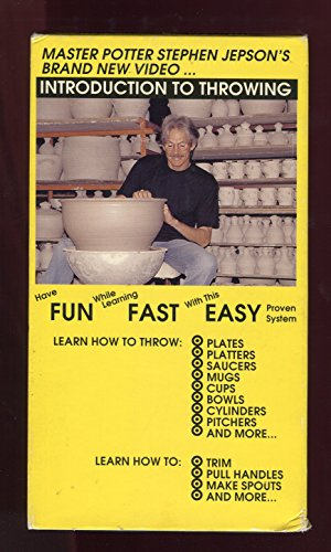 Introduction to Throwing on the Potter's Wheel (VHS)