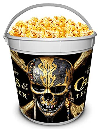 Pirates of the Caribbean: Dead Men Tell No Tales Movie Theater Exclusive 170 oz Plastic Popcorn Tub