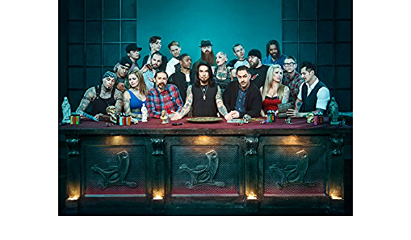 """Tattoo Ink Master Cast 13x19/"""" Photo Print"""
