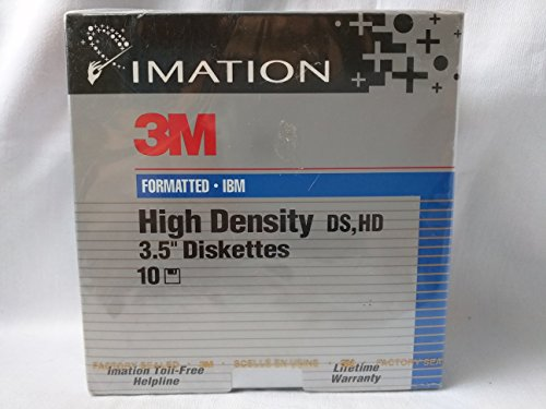 Imation 3M Formatted High Density 3.5'' Diskettes 1.44 MB by Imation