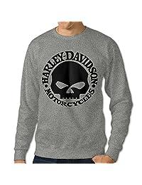 C2Ucdi Men's Harley Davidson Logo Sweater