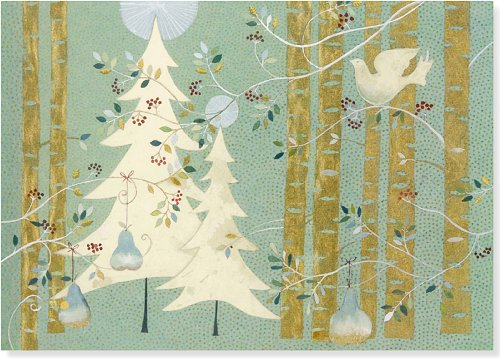 (Pines and Birches Deluxe Boxed Holiday Cards (Christmas Cards, Holiday Cards, Greeting Cards))