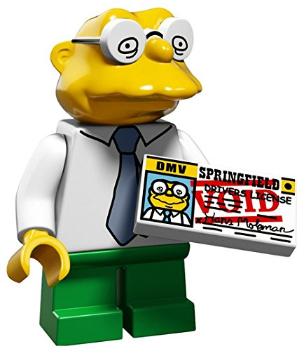 LEGO The Simpsons Series 2 Collectible Minifigure 71009 - Hans Moleman