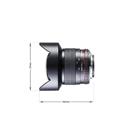 Walimex Pro 14 mm F/2.8 IF - Objetivo para cámara réflex Nikon ...