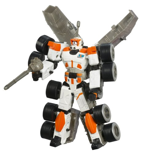 (Star Wars: Transformers Clone Commander Cody Turbo Tank Action Figure)