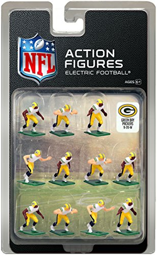 Tudor Games Green Bay Packers Away Jersey NFL Action Figure Set by Tudor Games