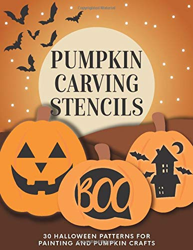 Pumpkin Carving Stencils  30 Halloween Patterns For Painting And Pumpkin Crafts
