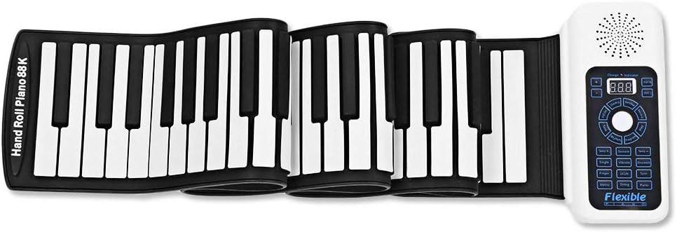 Piano Enrollable Plegable Con Pedal De Sostenido, Piano ...