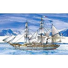 Zvezda (ZVEZDA) sailboat plastic model Burukowa Pas No. (9012)