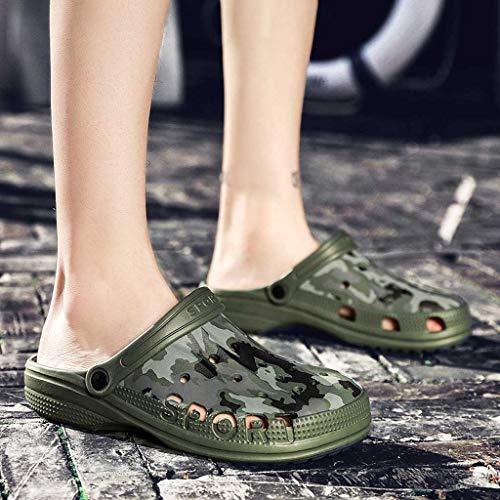 E Uomo Ciabatte Lanskrlsp Estive Sanitari Da Verde Piscina Invernali Pantofole Zoccoli Sandali OaxqwUwnCf