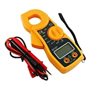 MyBreeze@ Mini Digital Clamp-On AC/DC Multi-Meter Electronic Load Tester 400A Max (JC-MT87)