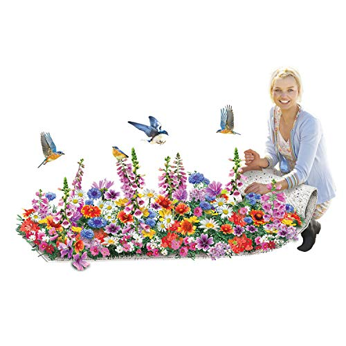 Enroot Roll and Grow Flowering Border Mat- Monarch and Butterfly ()