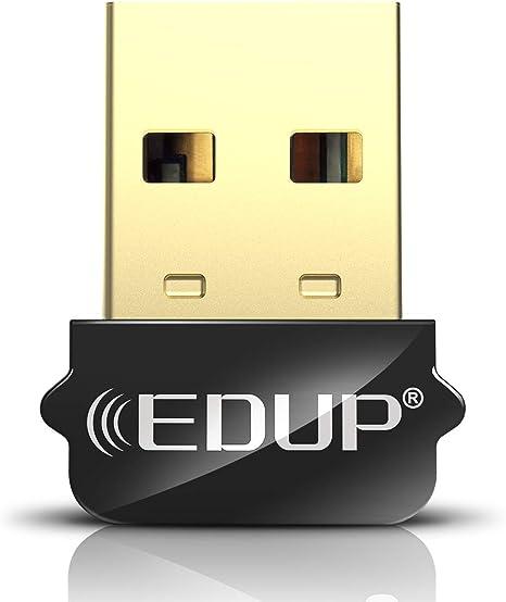 WiFi Dongle for PC Desktop Laptop Free Drive Adapter Support Windows XP//7//8//8.1//10 USB WiFi Adapter 2.4GHz Mini Wireless Network Adapter