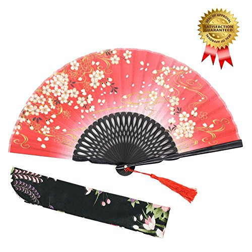 red chinese fan - 4