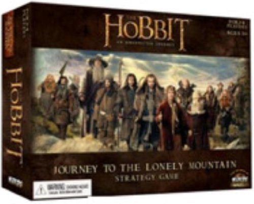 The Hobbit: Journey To The Lonely Mountain Board Game by WizKids