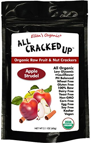 All Cracked Up Organic Raw Fruit & Nut Crackers Superfood Snacks