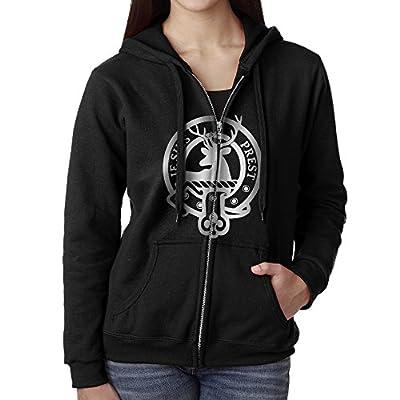 Women's Je Suis Prest Outlander Zip Front Hooded Sweatshirt
