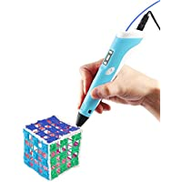Vcall Upgraded 3D Printing Crafting Modeling Drawing Pen with LCD Screen and 1.75mm Filament