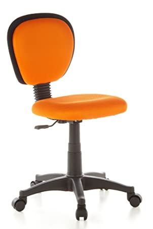 hjh OFFICE Kiddy Top 670140 Silla para Niños, Naranja (Orange), 37 x 50 x 90 cm: Amazon.es: Hogar