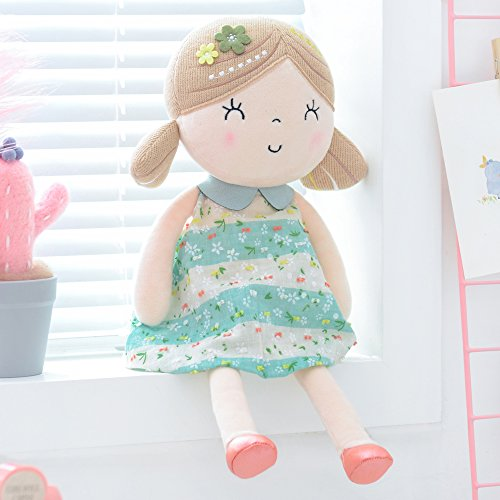 (Gloveleya Baby Doll Baby Girl Gifts Plush Snuggle Buddy Cuddly Soft Play Toy Gift Children 0+ ...)