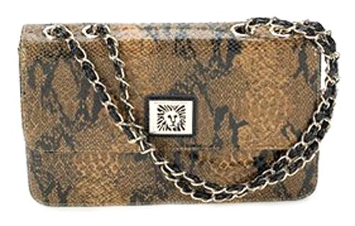 Anne Klein Lion Lady Brown-Black, Bags Central