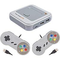 ADMOS Trådlös retro spelkonsol mini TV-videospelare bärbar handhållen spelkonsol