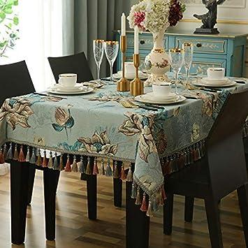 Maison Tissu Salon Table Nappe Rectangulaire Européenne Thé À 76gfvYby