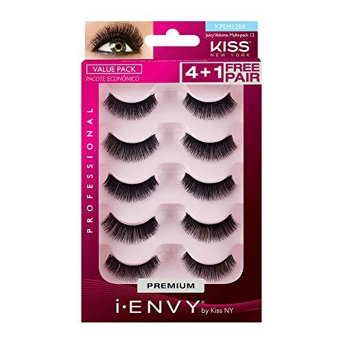 i.Envy by Kiss Eye Lash Value Pack #KPEM12 (Kiss Pack Eyelashes Value)