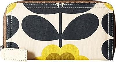 Orla Kiely Summer Flower Stem Big Zip Wallet
