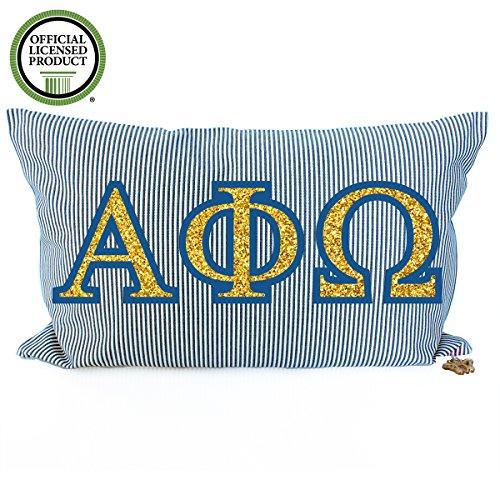 Fraternity Throw (Alpha Phi Omega Pillow)