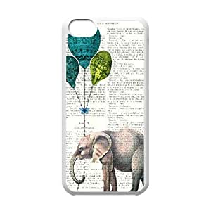 linJUN FENGElephant Original New Print DIY Phone Case for ipod touch 5,personalized case cover ygtg525401