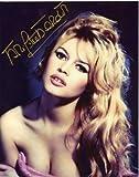Brigitte Bardot Sexy Movie Still Signed Autographed 8 X 10 Reprint Photo - Mint Condition