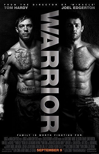 Expert choice for warrior movie poster 24×36