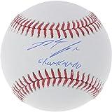 Nolan Arenado Colorado Rockies Autographed Baseball with Sharknado Inscription - Fanatics Authentic Certified