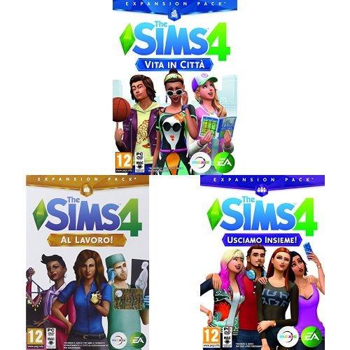the sims 4 e tutte le espansioni