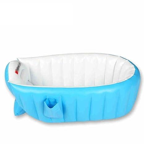 sgtrehyc Bañera Inflable de la bañera Aislamiento Grueso Azul Recién ...